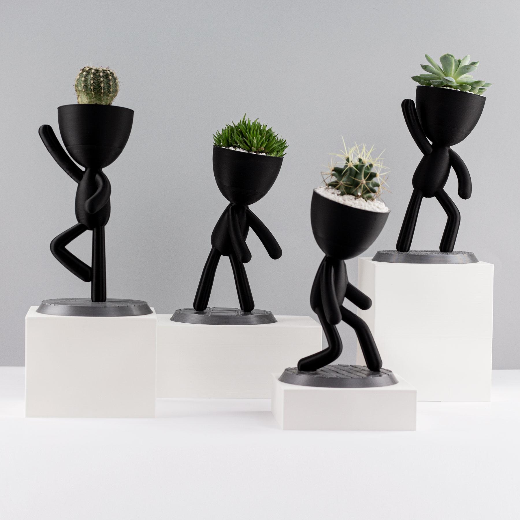 Quartet Mini Bob Dancer Planters Casa Z